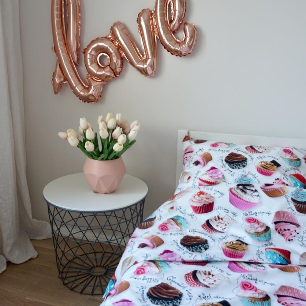 Tassikookidega voodipesu lastele - erinevad suurused